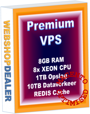 Premium VPS server 8GB Magento Optimised