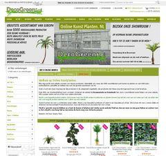 Webshopdealer Magento webwinkel onlinekunstplanten.nl