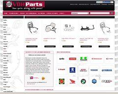 Webshopdealer Magento webwinkel vdhparts.nl